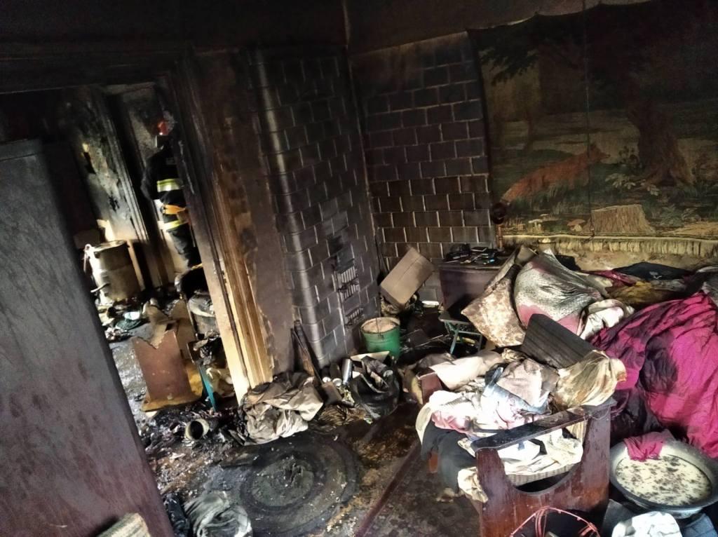 Огонь унес жизни двух человек в Лиде.