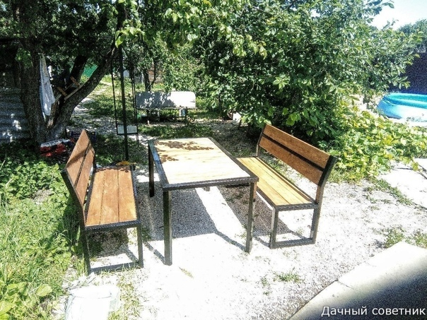 Дачная мебель своими руками и бюджетом в 5 тысяч Дачный лайфхак