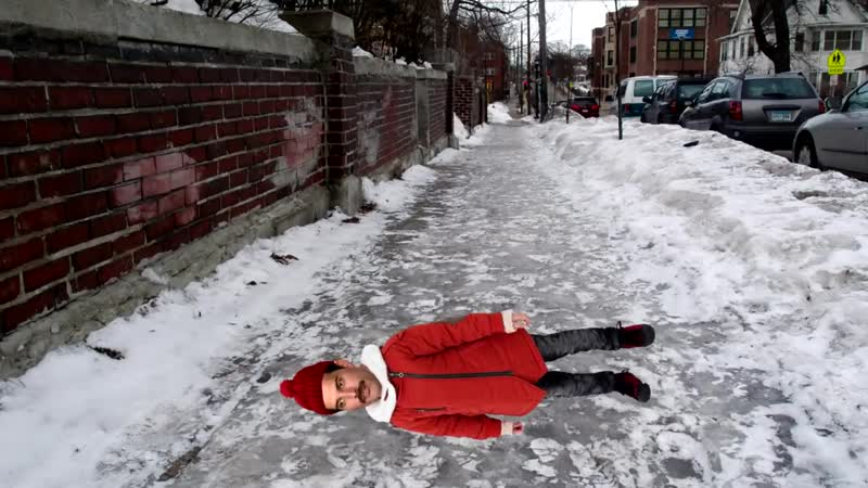 Freddie mercury slips on ice and cant get up