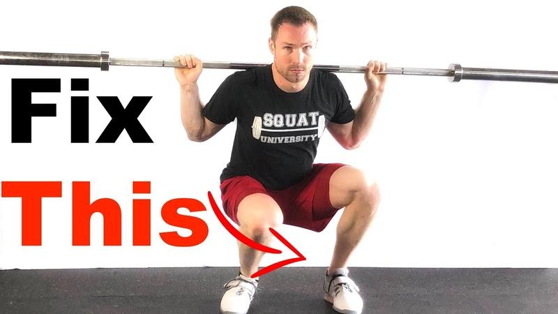 Fix your Squat (No Knee Cave!)