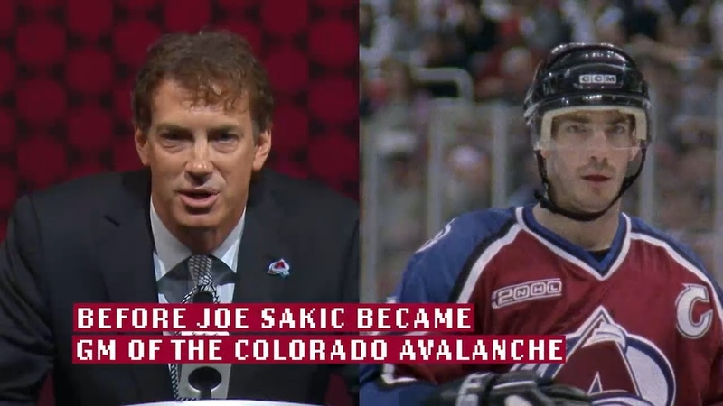 Blast from the Past Joe Sakic