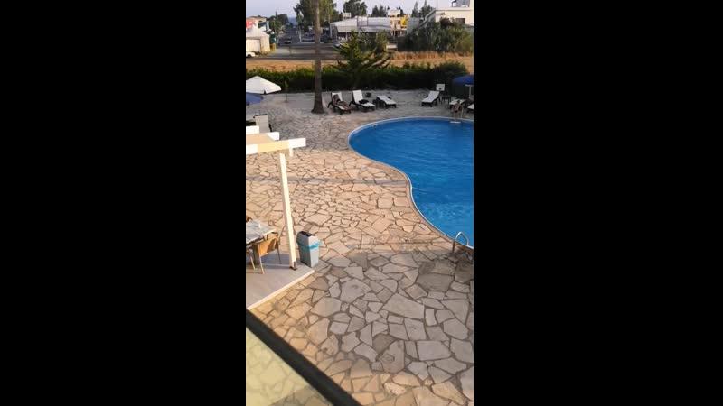 Кипр 2019 июнь Айэанаки Виллини Хотель