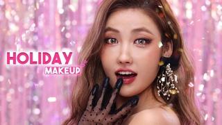 [Eng] 인생샷100%✨연말파티 메이크업 (ft.롱웨어 꿀팁) Holiday Makeup Tutorial l 이사배(RISABAE Makeup)