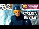 Mezco Cyclops Previews Exclusive figure review