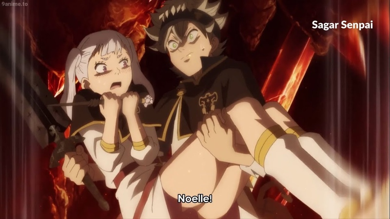Asta Carries Noelle 💖 Leo Unlocks Rune Magic Black Clover Episode 133