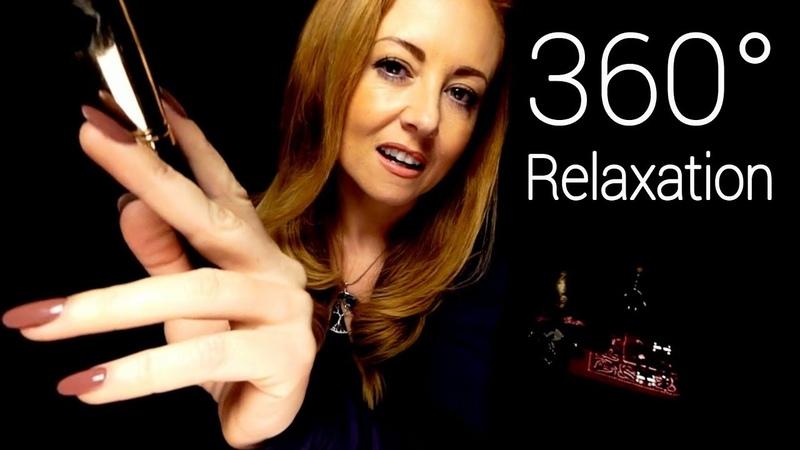 360° ASMR Sound Therapy Binaural Massage Brushing Singing Bowl Tuning Forks