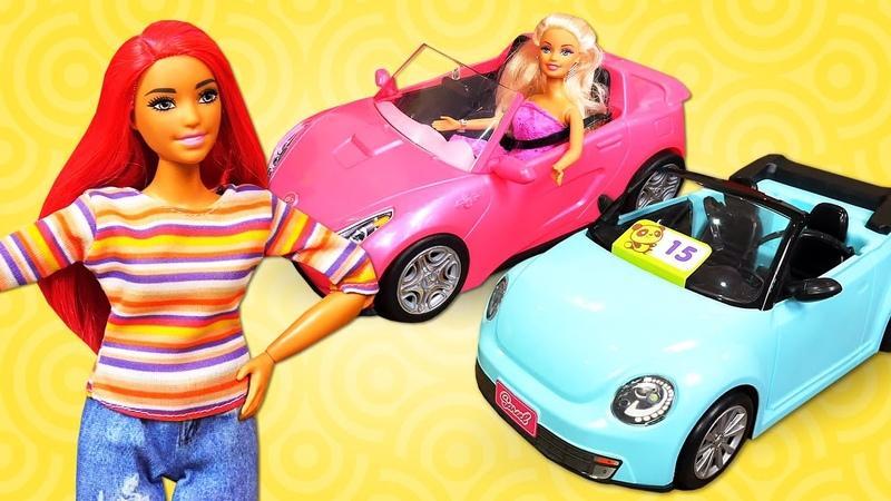 Barbie quer comprar um carro novo! - Vídeos com brinquedos - Jogos para crianças