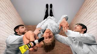 Приклеит ли клей-момент человека к потолку?
