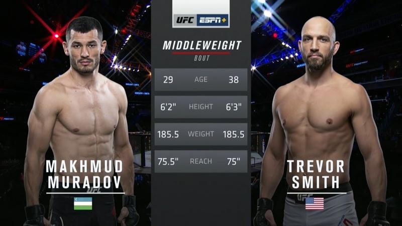 Махмуд Мурадов vs Тревор Смит Вспоминаем бой