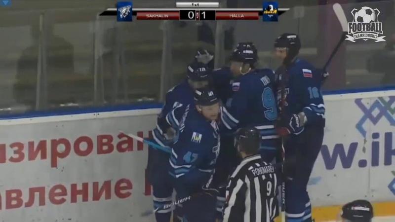 ШАйба!Мощная передача Хоккей. Сахалин - Аньянг 1-1 (12.11.19) Sakhalin-Anyang