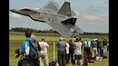 Awesome F 22 Raptor Falls freefall from sky in full control 4K
