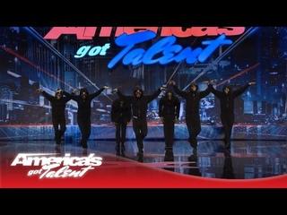 Hammerstep! Hip-Hop Meets Traditional Irish Dance! - America's Got Talent