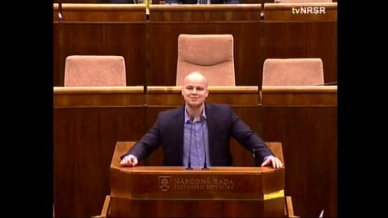 Pripomeňme si z 2017 ... M. Mazurek sa ospravedlňuje za výroky o islame a sionizme (12. schôdza - 1. 2. 2017)
