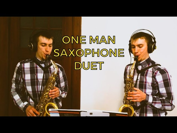 ONE MAN SAXOPHONE DUET Off The Record James Rae Jazzy Duets