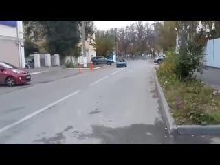 Инвалидка с двигателем от мотоцикла honda cb 1100