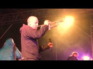 Brevis Brass Band 🎺 встречает Деда Мороза 🎅  в Тушино