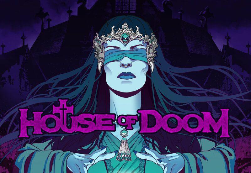 Игровой автомат House of Doom в казино Вулкан