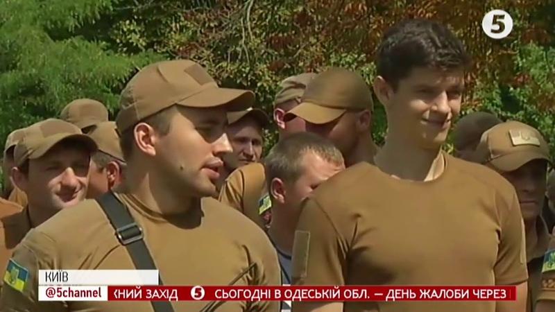 Більше 9000 учасників перша репетиція Маршу захисників до Дня Незалежності відбулася у Києві