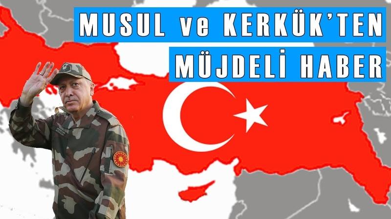 Musul ve Kerkük Türkiyeye Katılıyor! Nasıl Mı
