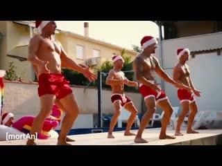 [mortan] hot men dance christmas