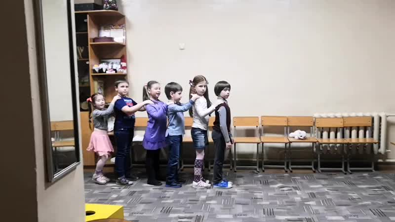 Репетиция танца Букашки