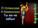Любовь Успенская и Настя Каменских NK - Ты же не забыл караоке