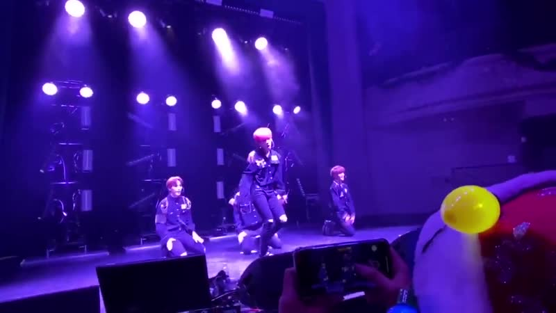 FANCAM | 201219 | A.C.E - Take Me Higher @ UC AREA US in San Francisco Concert