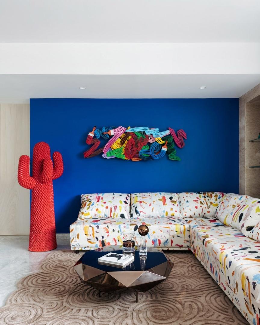 Яркий дом в Мумбаи от Джаннат Васи || 01
