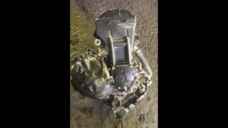 Проверка контрактного двигателя Yamaha FZ1 Fazer (N518E) перед отправкой клиенту | motod.ru