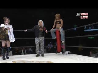 (Goddesses Of Stardom Title) Hailey Hatred & Kyoko Kimura (c) vs. Kairi Hojo & Natsumi Showzuki