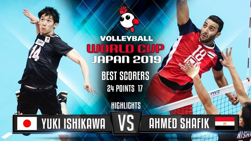 Highlights | Japan vs. Egypt | Yuki Ishikawa vs. Ahmed Shafik | World Cup 2019