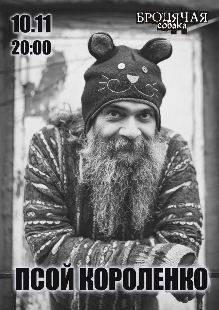 Афиша Новосибирск Псой Короленко / 10 ноября / Новосибирск