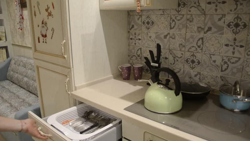 Видеообзор кухни Фокко из массива дуба