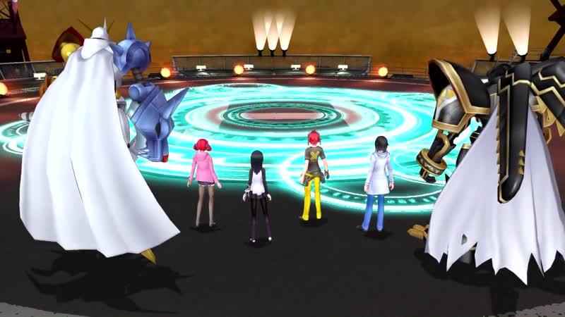 Digimon Story Cyber Sleuth Complete Edition.Прохождение последней 20-ой главы с дигимонами уровня ребенка ( из Аниме ).концовка