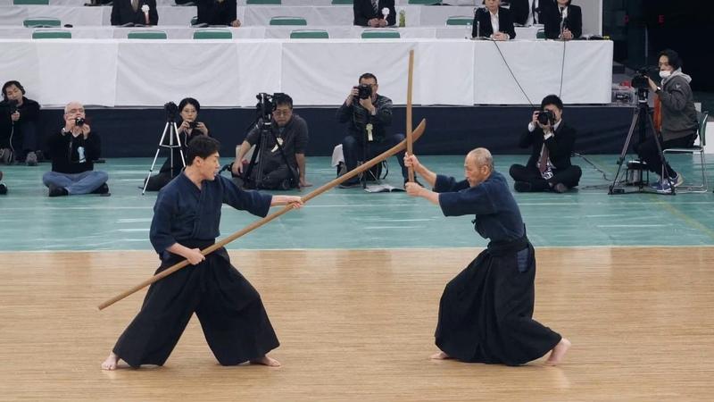 Tenshin Shoden Katori Shinto-ryu Kenjutsu - 42nd Japanese Kobudo Demonstration (2019)