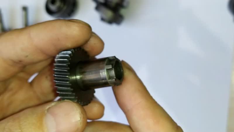 Промежуточный вал перфоратора Bosche GBH 2-26