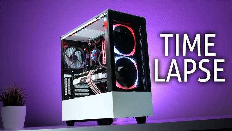NZXT H510 ELITE Time Lapse Build AWESOME 1500€ Gaming PC