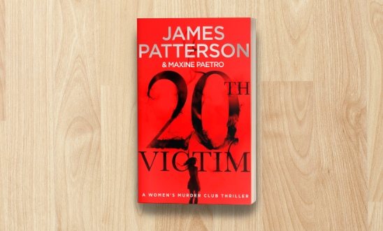James Patterson - 20 victim