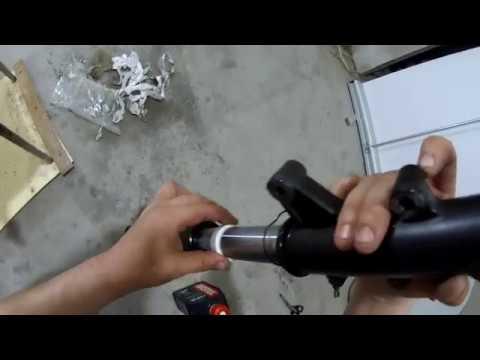 Замена и запрессовка сальников вилки без спец оправок