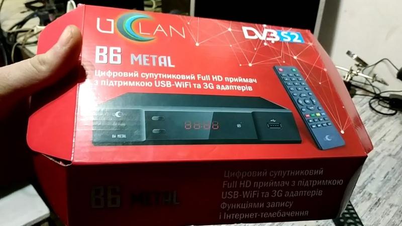 Самая частая неисправность спутникового тюнера Uclan B6 Metal