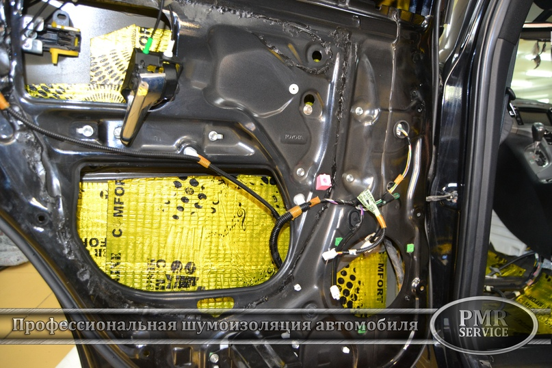 Шумоизоляция Toyota Venza, изображение №7
