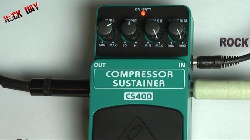 Behringer Compressor Sustainer CS400 Test Review Wojtek Pietraszek