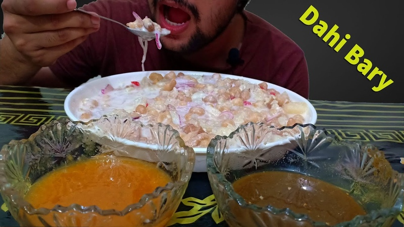 Yummy Dahi Bary | messy food eating | mukbang eating show | food eating show social eating Fastfood
