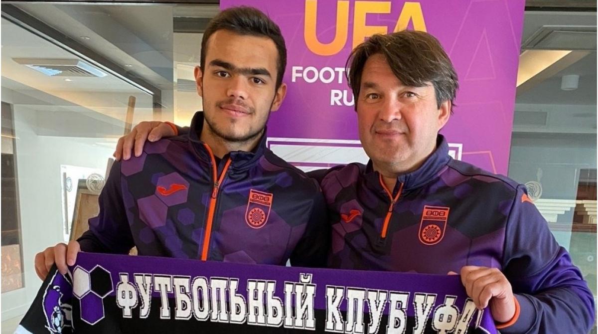 Остон Урунов и Шамиль Газизов. ФК Уфа