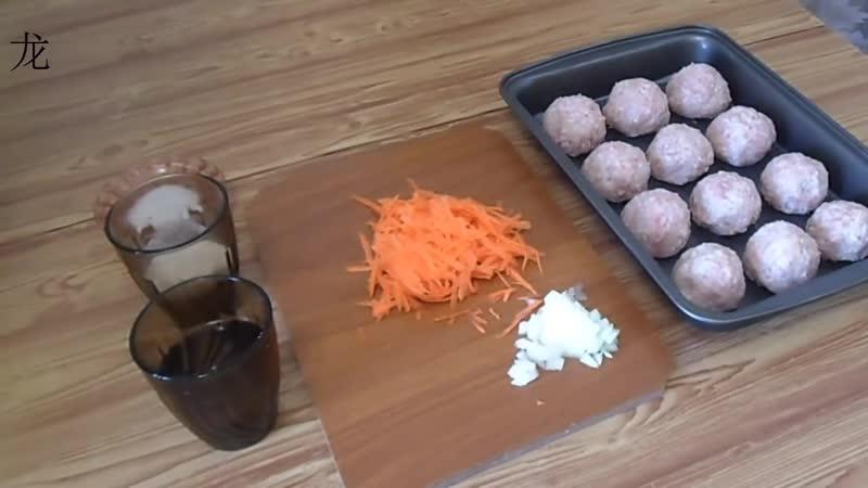 Тефтели с рисом Meatballs with rice 1