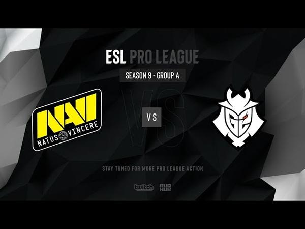 Na`Vi vs G2 - ESL Pro League Season 9 EU - map1 - de_nuke [PCH3LK1N CrystalMay]