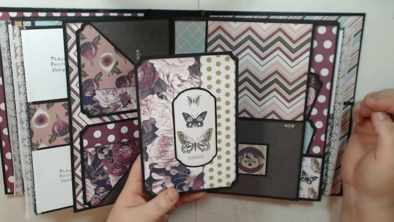 Photoplay Gypsy Rose Album Tutorial for Country Craft Creations