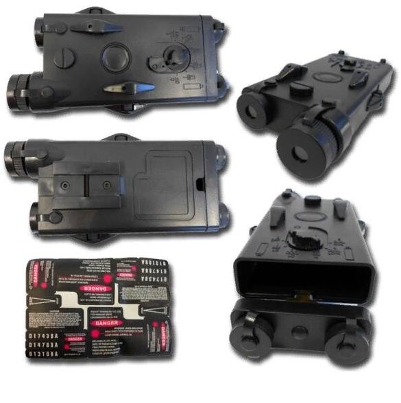Лазерный целеуказатель AN/PAQ-4 или ITPIAL (англ. Infrared Target Pointer/Illuminator/Aiming Laser) — универсальное прицельное приспособление для стрелкового оружия