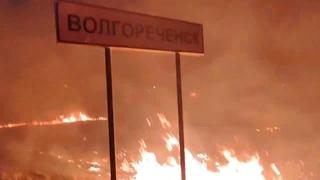 Пять дачных домов под Волгореченском сгорели из-за пала травы