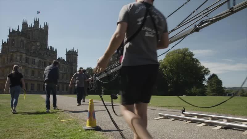 [Аббатство Даунтон / Downton Abbey] - B-Roll - Видео со съёмочной площадки